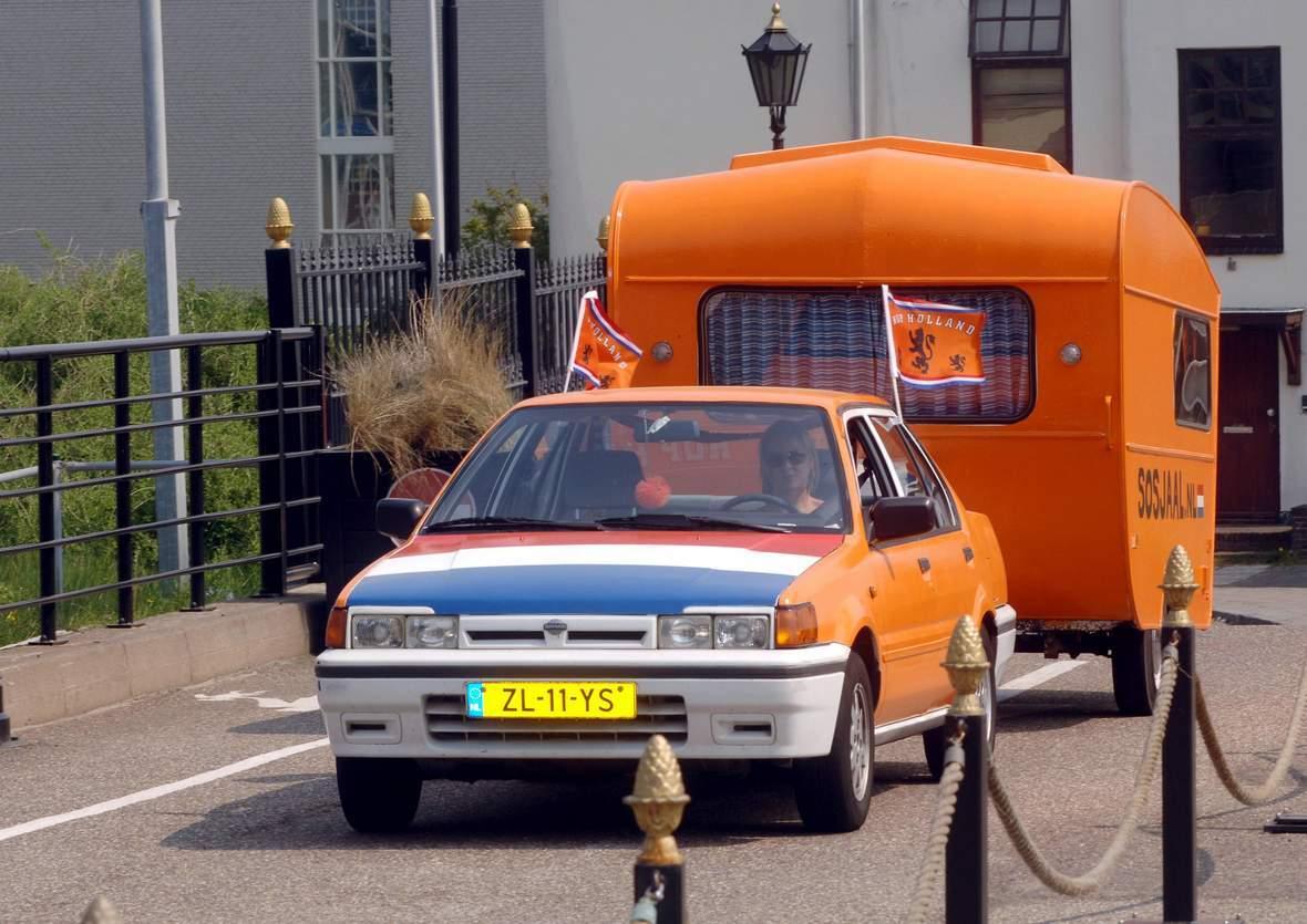 Der Holländer Wohnwagen
